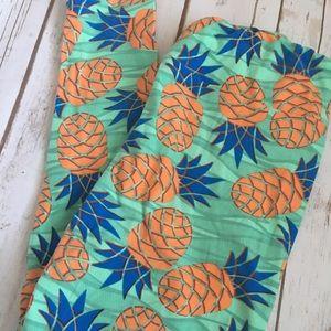 Lularoe Unicorn Pineapple Leggings - TC